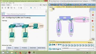 Download 6.2.2.5 Lab - Configuring VLANs and Trunking Video
