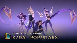 Download K/DA - POP/STARS (ft Madison Beer, (G)I-DLE, Jaira Burns) | Official Music Video - League of Legends Video
