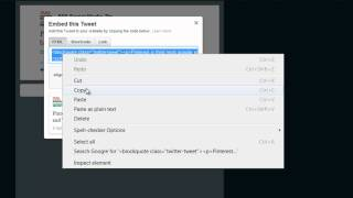 Download How To Embed A Tweet | Embed Twitter HTML to Blog or Website Video