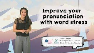 Download Improving American English Pronunciation: Word stress ☺️🤓 || American English 🇺🇸 Video