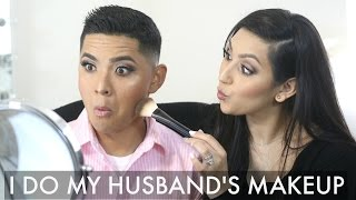 Download I DO MY HUSBAND'S MAKEUP | BEAUTYYBIRD Video