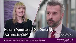 Download How to implement GDPR in your school - hear from Dai Durbridge and Helena Wootton Video