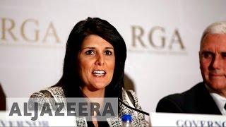 Download Donald Trump taps Republican Nikki Haley for UN envoy Video