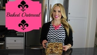 Download How To Make Baked Oatmeal- Healthy and Delicious Recipe Video