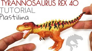 Download COMO HACER UN TYRANNOSAURUS REX DE JURASSIC WORLD DE PLASTILINA PASO A PASO Video