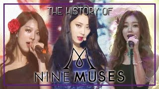 Download NINE MUSES Special ★Since Debut to 'Remember'★ (49m Stage Compilation) Video