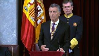 Download Macri invita a empresas españolas a invertir en Argentina Video