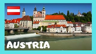 Download STEYR: AUSTRIA'S most beautiful TOWN - Rivers, medieval castles and streets Video