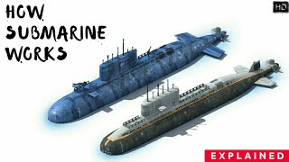 Download How Submarine Works? How Do Submarines Get Oxygen? How Submarine See In Water? Explained (Hindi) Video