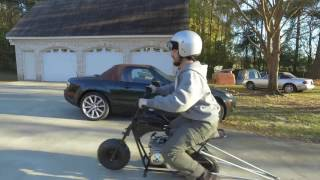 Download Custom Mini Bike Wheelie Bar (Insane Launches) Video