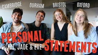 Download HOW TO WRITE A PERSONAL STATEMENT FOR A TOP UNIVERSITY! (w/ UnJaded Jade, Ibz Mo + Eve Bennett) Video