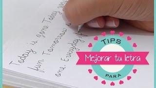 Download TIPS PARA MEJORAR TU LETRA! - Sophie Giraldo Video