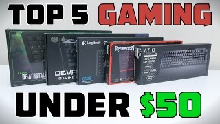 Download Top 5 Gaming Keyboards Under $50 - 2015 Video