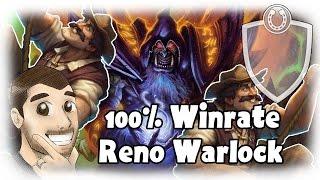 Download [Hearthstone] 100% Winrate Reno Warlock Video