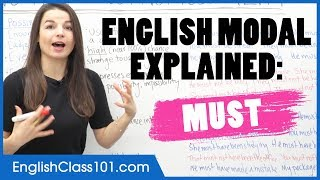 Download How to Use the Modal MUST - Learn English Grammar Video