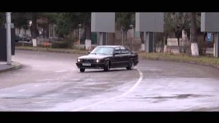 Download R.I.P In honor of Giorgi Tevzadze - BMW M5 E34 Street Drift Video