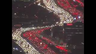 Download Insane Traffic in Los Angeles Video