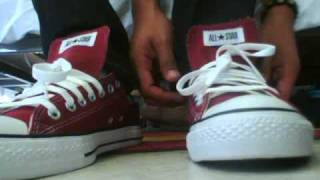 Download Converse All Star Chuck Taylor Burgundy Unboxing Video