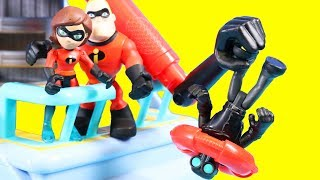 Download Disney Pixar Incredibles 2 Toy Review With Mr. Incredible And Hydroliner Playset Video
