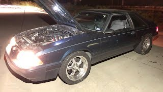 Download Turbo Mustang RESCUES stranded videographer from the Texas Streets! Video