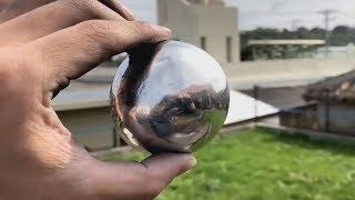 Download Come trasformare una palla di alluminio in una sfera perfetta | Tutorial Video