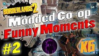 Download Borderlands 2   Modded Co-op w/ Shadowevil & K6   Funny Moments #2 Video