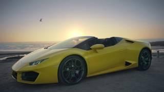 Download Lamborghini Huracán RWD Spyder: Breathtaking Technology Video