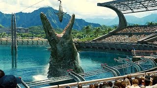 Download Mosasaurus Feeding Show Scene - Jurassic World (2015) Movie Clip HD Video