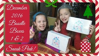 Download Unboxing December Boodle Box 1 & 2 Video