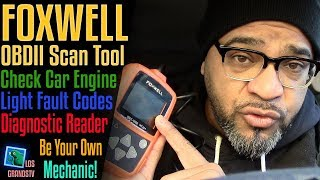 Download Foxwell NT201OBDII Diagnostic Scan Tool 🚘 : LGTV Review Video
