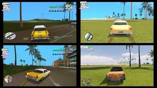 Download 4K - GTA Vice City Original vs Remastered vs RAGE vs GTA V Vice City Video