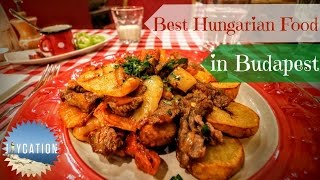 Download BEST HUNGARIAN FOOD TO EAT IN BUDAPEST | Food Guide Video