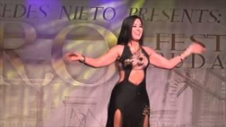Download Mercedes Nieto Oriental Dance / Bellydance at the CAIRO! Festival Budapest 2015 Video
