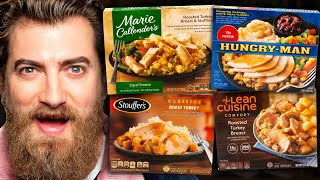 Download Frozen Thanksgiving Dinner Taste Test Video