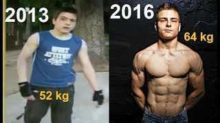 Download Unbelievable 3 Years Street Workout Transformation - Viktor Kamenov Video