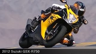 Download MotoUSA 2012 Suzuki GSX-R750 Comparison Video