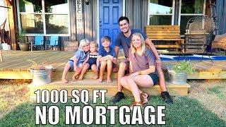 Download Debt Free Family of 5 - build 1000 sq ft Home NO Mortgage | Latigo Life Video