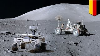Download Google Lunar X-Prize: Private German moon mission to inspect Apollo 17 lunar rover - TomoNews Video