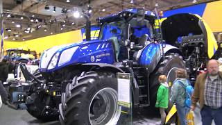 Download AGRI TECHNICA 2017 NEW HOLLAND T 8.435 - T 7.270 - CR 10.90 Video