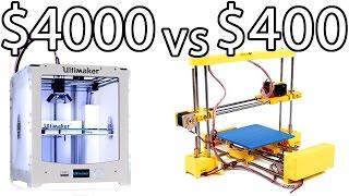 Download ULTIMAKER 2 vs PRINT-RITE DIY 3D Printer & How to Bed Level - PRINTER PARTY | Make Test Battle Video