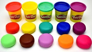 Download Learn Colors Play Doh Balls Rooster Lobster Fish Fruit & Vegetable Molds Surprise Toys Video
