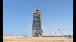 Download Jeddah / Kingdom Tower - World's Tallest Building - 1000m+ Sept 2018 Update Video