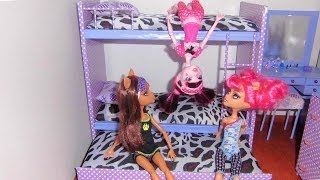 Download How to make a bunk bed for doll (Monster High, Barbie, etc) Video