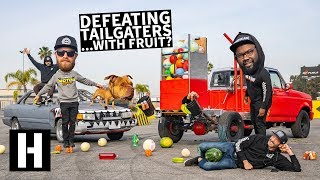 Download Anti Tailgater Test #3: Watermelons, Basketballs, and... Soda? Will You Crash? Video
