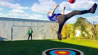 Download BICYCLE KICK FOOTBALL CHALLENGE Video