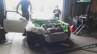 Download 900hp Civic on the Dyno! Video