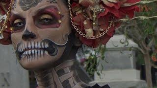 Download Imponente Día de Muertos en el cementerio Hollywood Forever Video