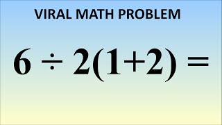 Download What is 6÷2(1+2) = ? The Correct Answer Explained Video