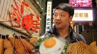Download Osaka Japan Street Food Tour! Dotonbori Food Guide Video