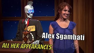 Download Alex Sgambati - The Girl Who Craig ″Sgambatied″ - 7/7 Appearances In Chronological Order [720p] Video